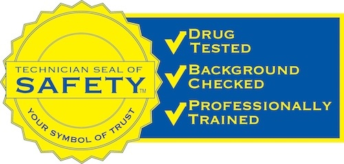 technical seal of safety logo - that all electrician good guys hold